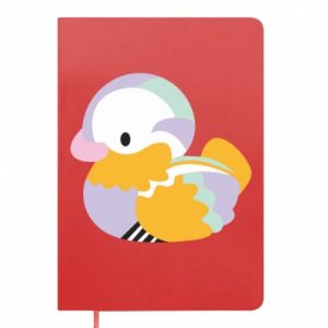 Notes Bright colored duck