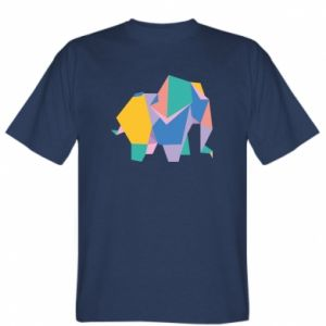 Koszulka Bright elephant abstraction