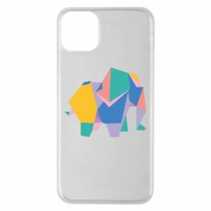 Etui na iPhone 11 Pro Max Bright elephant abstraction