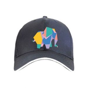 Cap Bright elephant abstraction