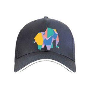 Cap Bright elephant abstraction - PrintSalon