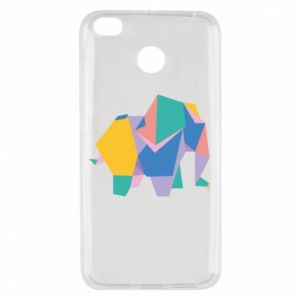 Etui na Xiaomi Redmi 4X Bright elephant abstraction