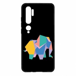 Etui na Xiaomi Mi Note 10 Bright elephant abstraction