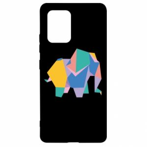 Etui na Samsung S10 Lite Bright elephant abstraction