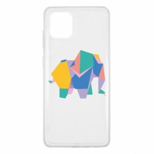 Etui na Samsung Note 10 Lite Bright elephant abstraction