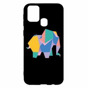 Etui na Samsung M31 Bright elephant abstraction