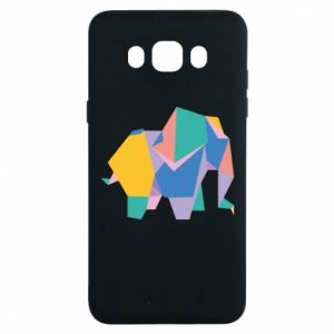 Etui na Samsung J7 2016 Bright elephant abstraction