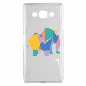 Etui na Samsung A5 2015 Bright elephant abstraction