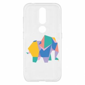 Etui na Nokia 4.2 Bright elephant abstraction