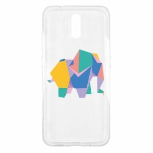 Etui na Nokia 2.3 Bright elephant abstraction