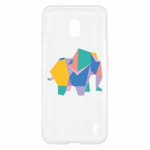 Etui na Nokia 2.2 Bright elephant abstraction