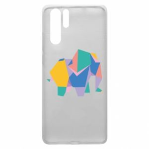 Etui na Huawei P30 Pro Bright elephant abstraction