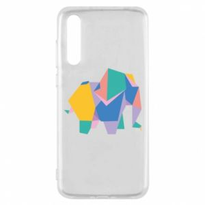 Etui na Huawei P20 Pro Bright elephant abstraction