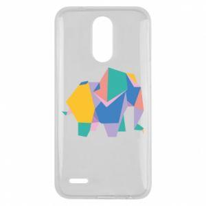 Etui na Lg K10 2017 Bright elephant abstraction