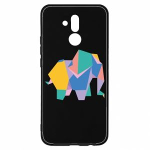 Etui na Huawei Mate 20 Lite Bright elephant abstraction