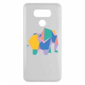 Etui na LG G6 Bright elephant abstraction
