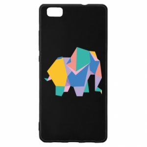 Etui na Huawei P 8 Lite Bright elephant abstraction