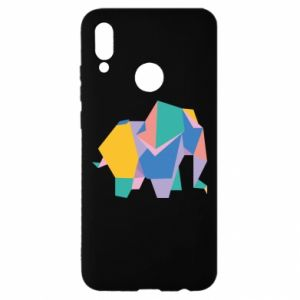 Etui na Huawei P Smart 2019 Bright elephant abstraction