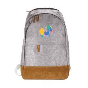 Miejski plecak Bright elephant abstraction