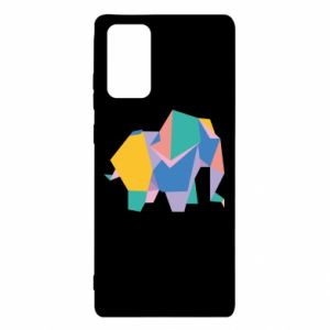 Etui na Samsung Note 20 Bright elephant abstraction