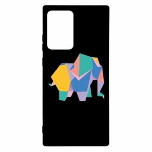 Etui na Samsung Note 20 Ultra Bright elephant abstraction