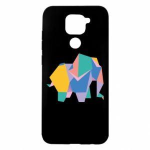 Etui na Xiaomi Redmi Note 9/Redmi 10X Bright elephant abstraction