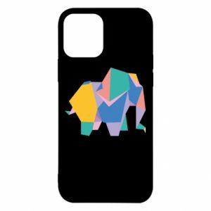 Etui na iPhone 12/12 Pro Bright elephant abstraction