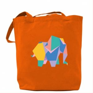 Torba Bright elephant abstraction