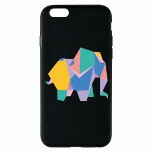 Etui na iPhone 6/6S Bright elephant abstraction