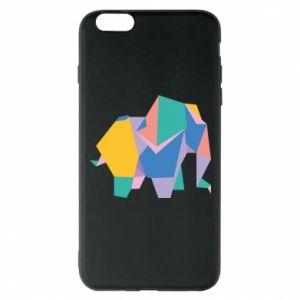 Phone case for iPhone 6 Plus/6S Plus Bright elephant abstraction - PrintSalon