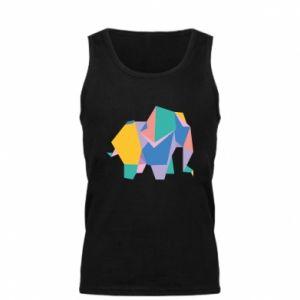 Men's t-shirt Bright elephant abstraction - PrintSalon