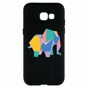 Phone case for Samsung A5 2017 Bright elephant abstraction - PrintSalon