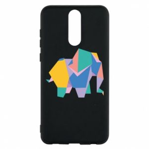 Phone case for Huawei Mate 10 Lite Bright elephant abstraction - PrintSalon