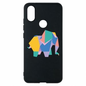 Phone case for Xiaomi Mi A2 Bright elephant abstraction - PrintSalon