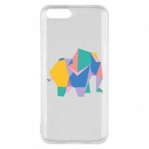 Phone case for Xiaomi Mi6 Bright elephant abstraction - PrintSalon