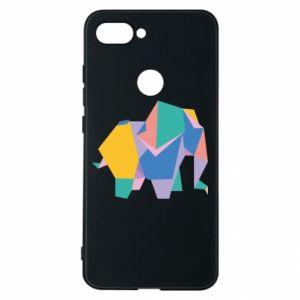 Phone case for Xiaomi Mi8 Lite Bright elephant abstraction - PrintSalon