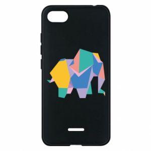 Phone case for Xiaomi Redmi 6A Bright elephant abstraction - PrintSalon