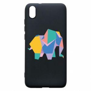 Phone case for Xiaomi Redmi 7A Bright elephant abstraction - PrintSalon
