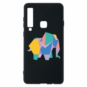 Phone case for Samsung A9 2018 Bright elephant abstraction - PrintSalon