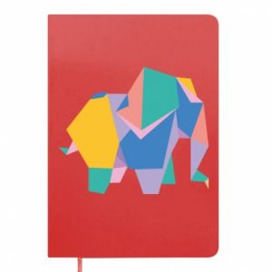 Notes Bright elephant abstraction