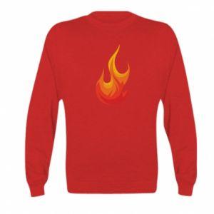 Bluza dziecięca Bright flame