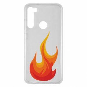 Etui na Xiaomi Redmi Note 8 Bright flame