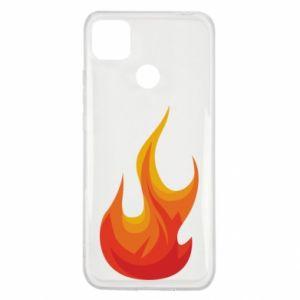 Etui na Xiaomi Redmi 9c Bright flame