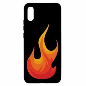 Etui na Xiaomi Redmi 9a Bright flame