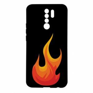 Etui na Xiaomi Redmi 9 Bright flame
