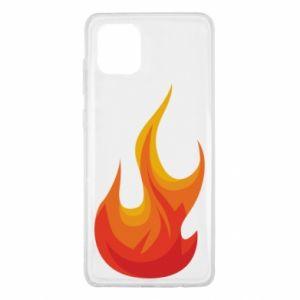 Etui na Samsung Note 10 Lite Bright flame