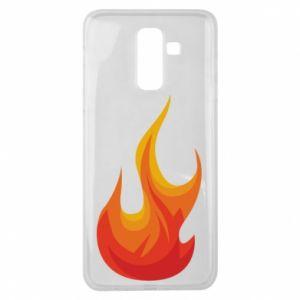 Etui na Samsung J8 2018 Bright flame