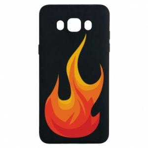 Etui na Samsung J7 2016 Bright flame