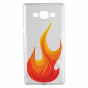 Etui na Samsung A5 2015 Bright flame