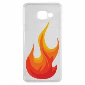 Etui na Samsung A3 2016 Bright flame